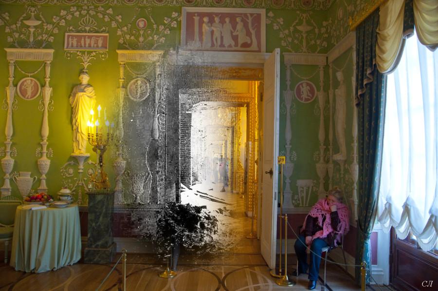 Екатерининский дворец. Зеленая столовая Анфиллада 01 СЛ.jpg