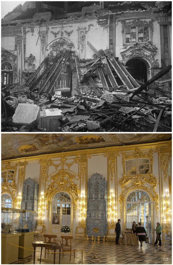 Екатерининский дворец. Первая антикамера  сравнение СЛ.jpg
