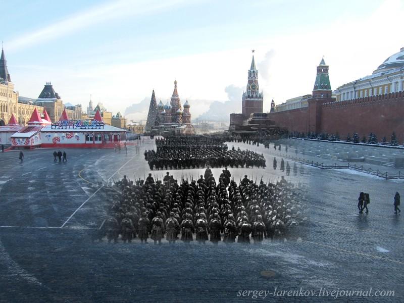 1941/2010 Moscow. Parade November 7th, 1941.