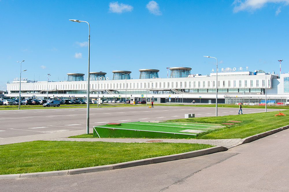 Старый терминал Пулково 1