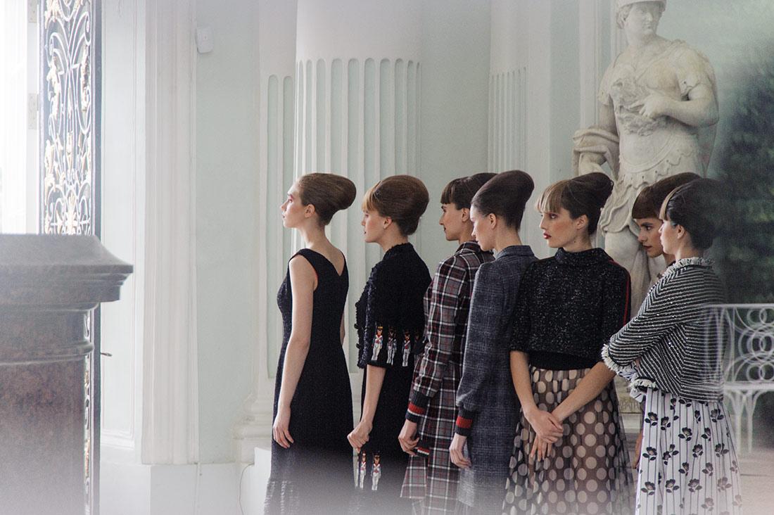 Before fashion show