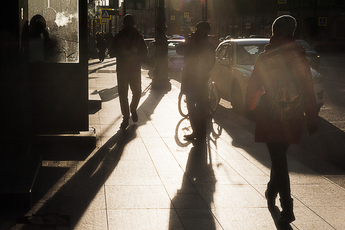 городские тени