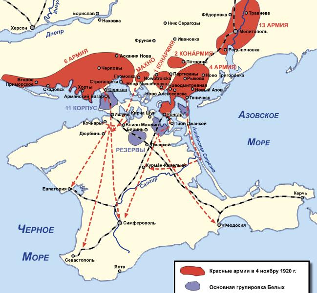 Крым ноябрь 1920