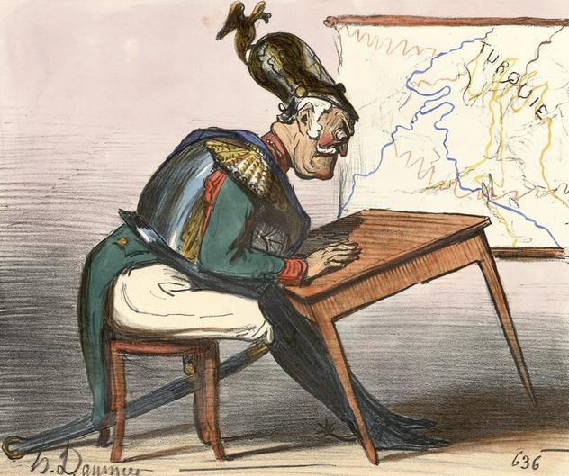 карикатура Николай 1