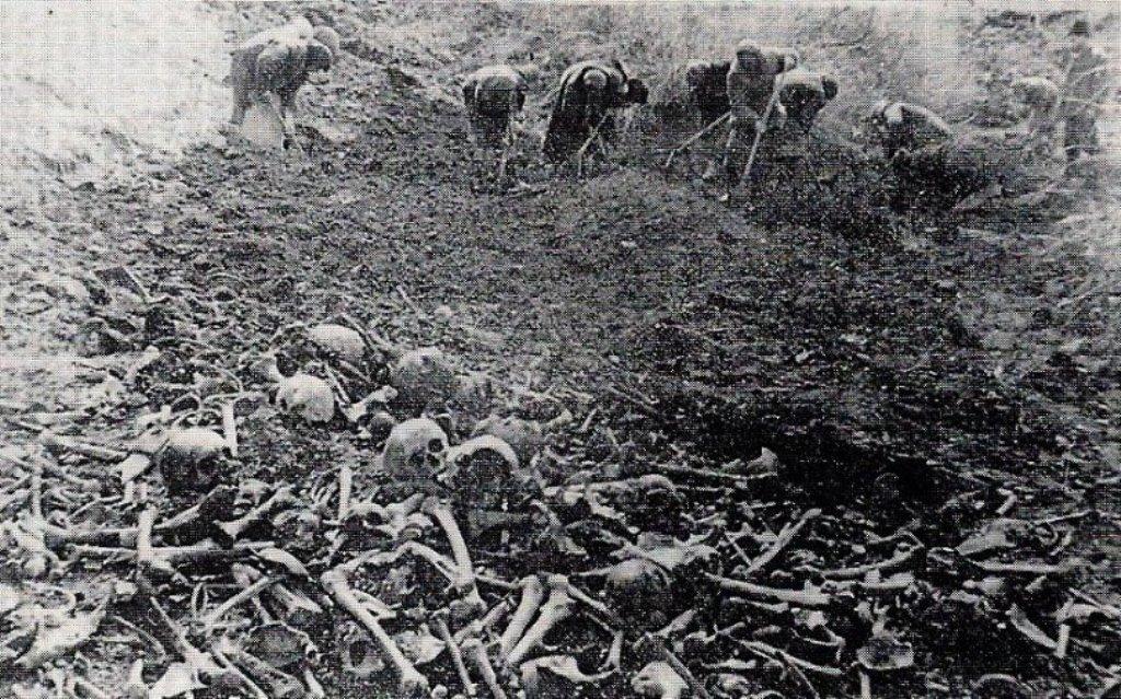 После военные раскопки 1 кро