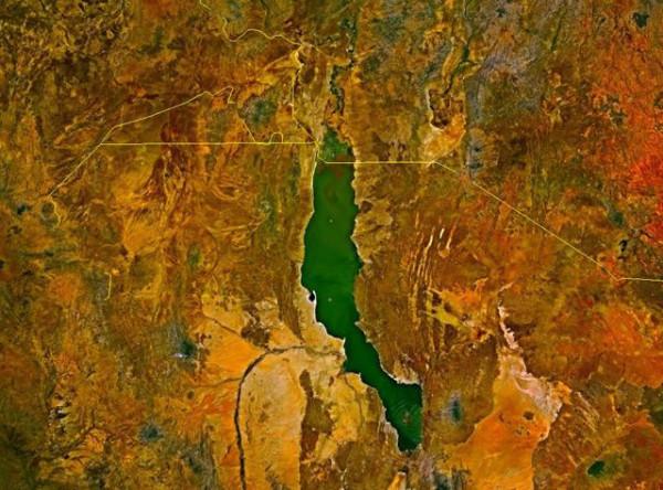 озеро туркана карта