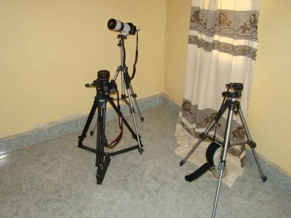 50 часть съемочной аппаратуры