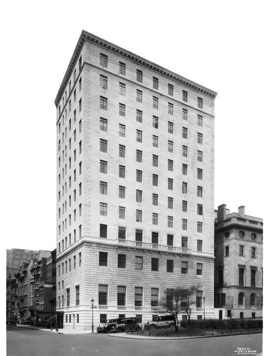 660 park avenue 1928