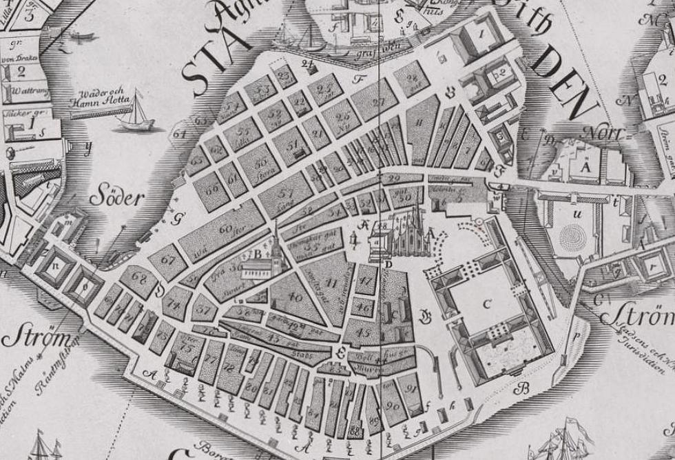 Tillaeus_karta_av_Staden_1733