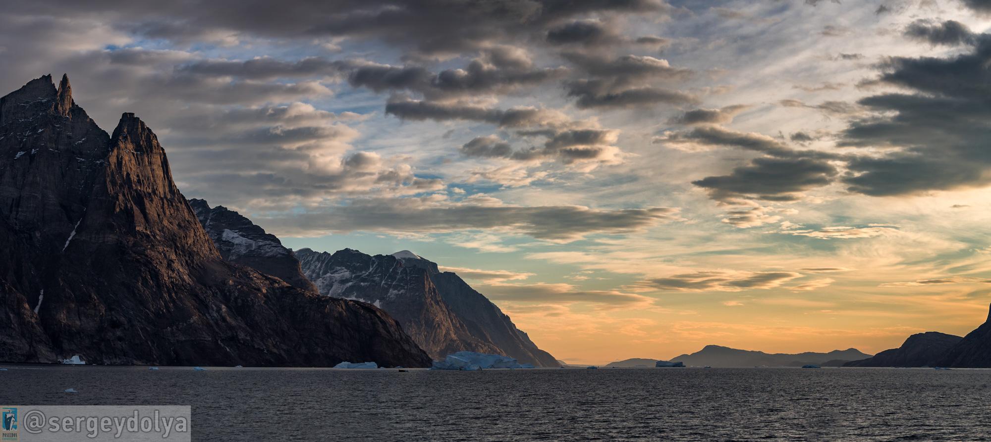 Шикарные панорамы Гренландии