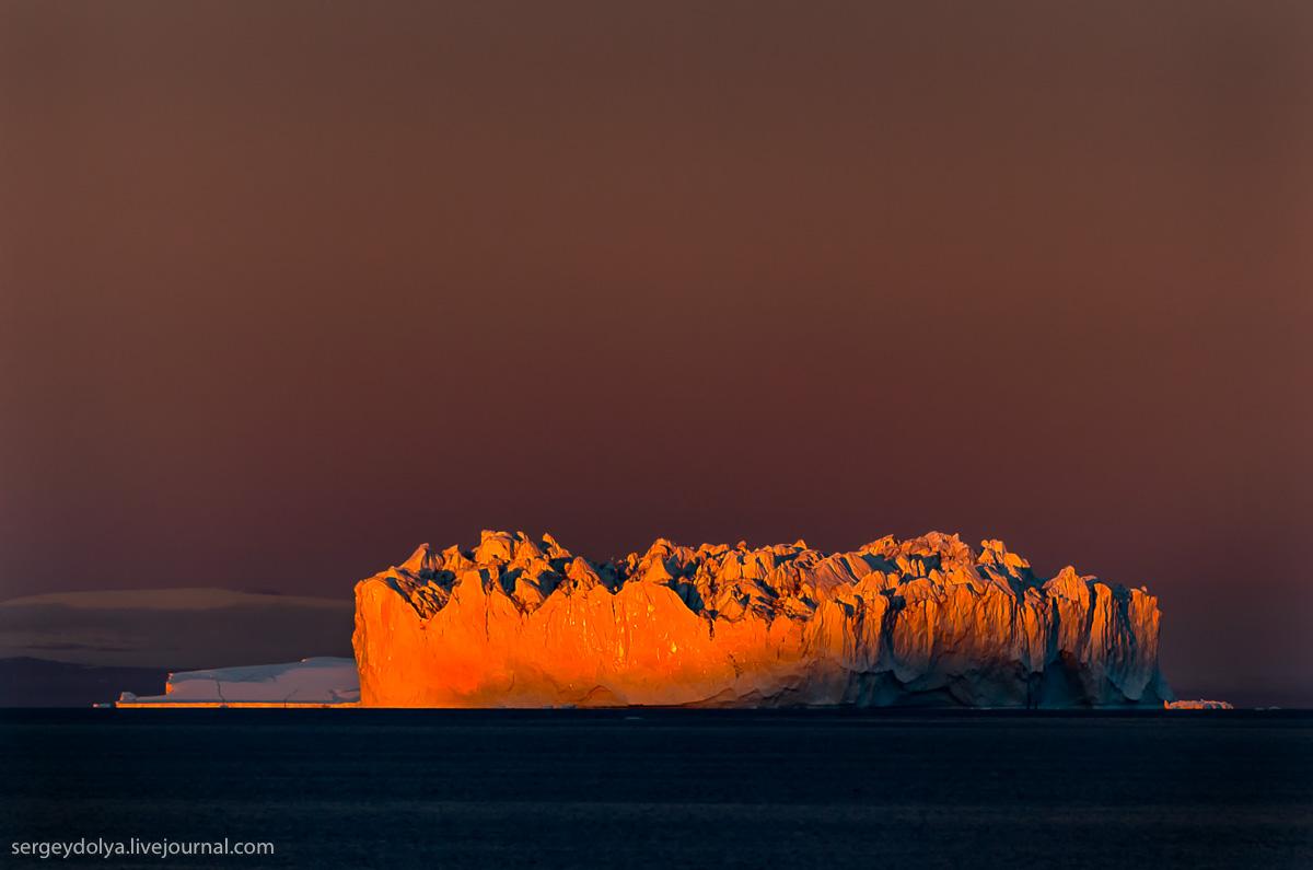 Айсберги Гренландии. 50 оттенков белого