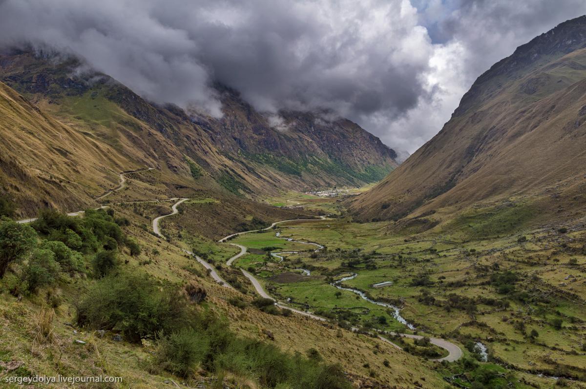 Горная дорога в Перу