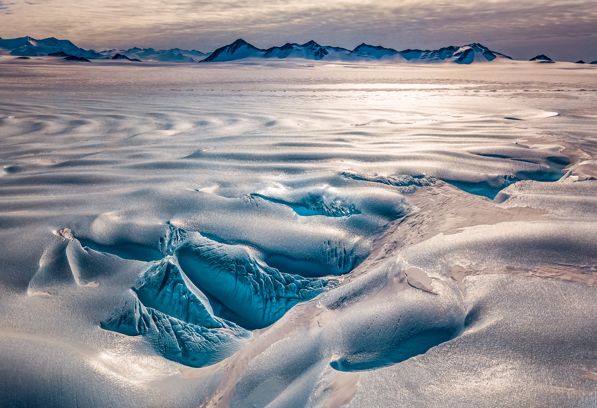 Ледник Дрейка в Антарктиде