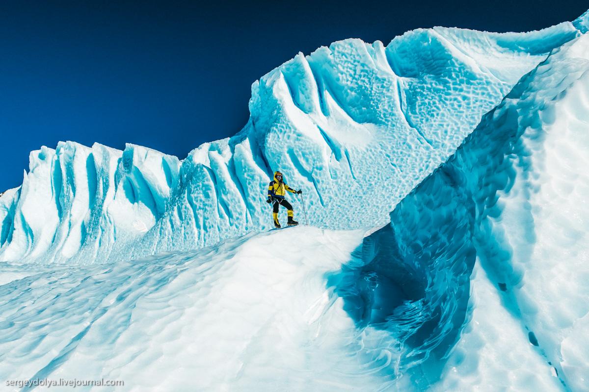 Реальные масштабы антарктического ледника