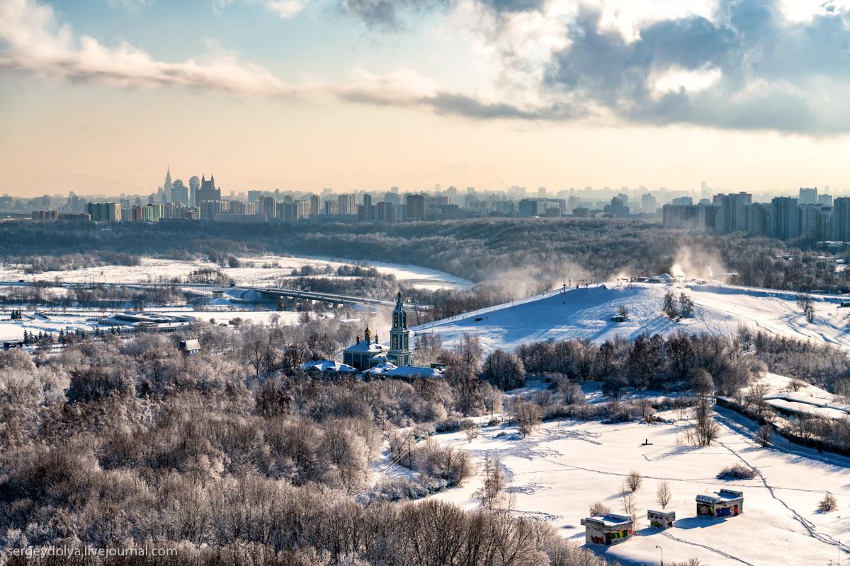 Москва очухалась от снегопада