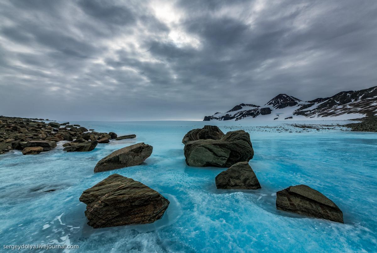 Синий лёд Антарктиды