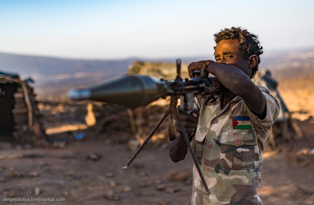 Эфиопские вояки