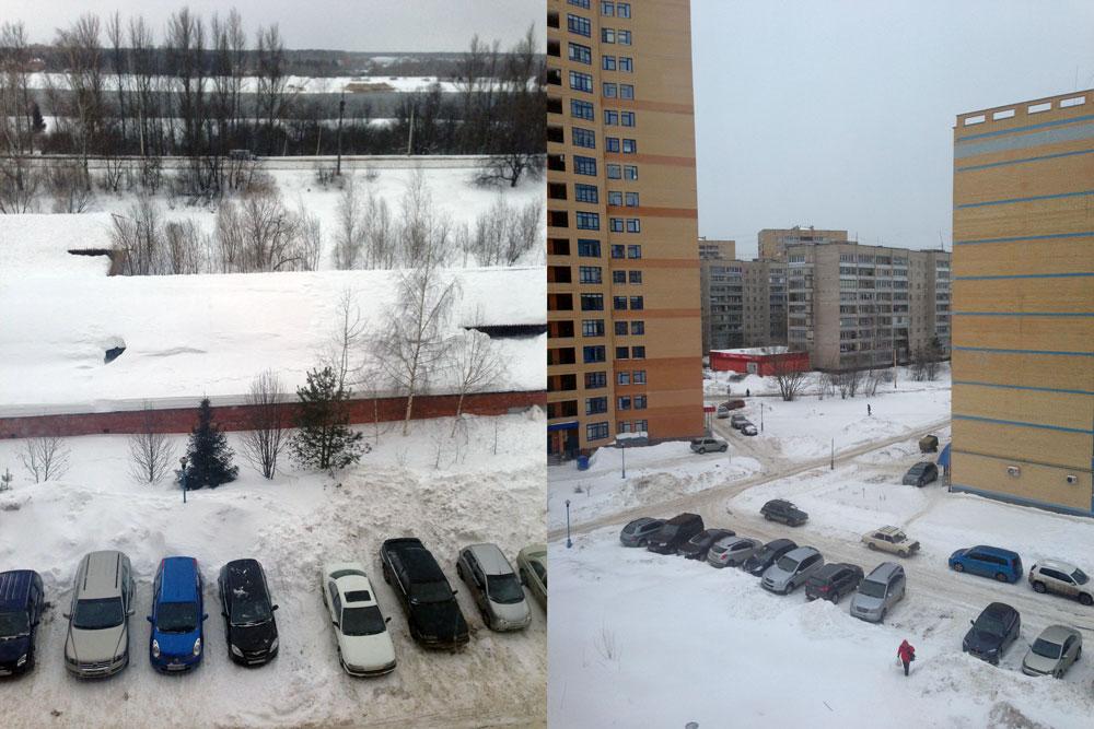 Покажите погоду за окном view from my window