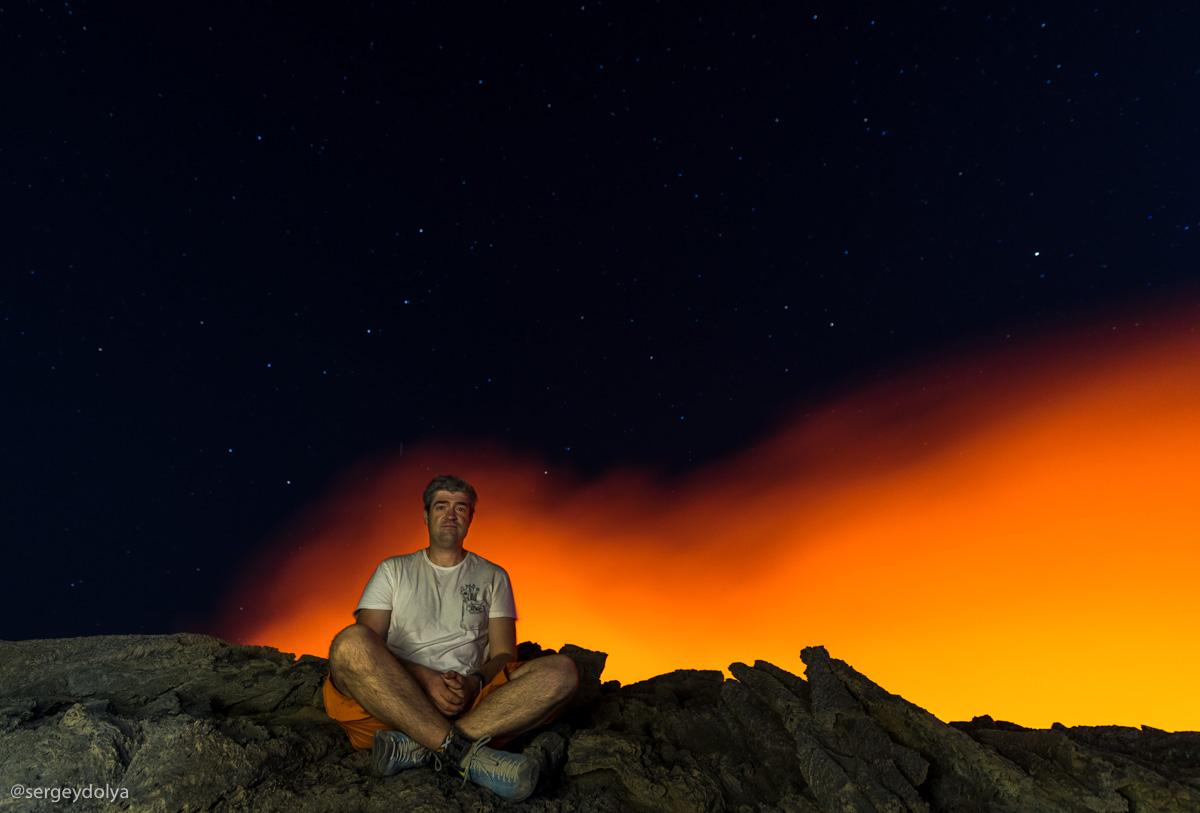 Эртале - один из пяти известных вулканов мира, имеющих лавовое озеро.