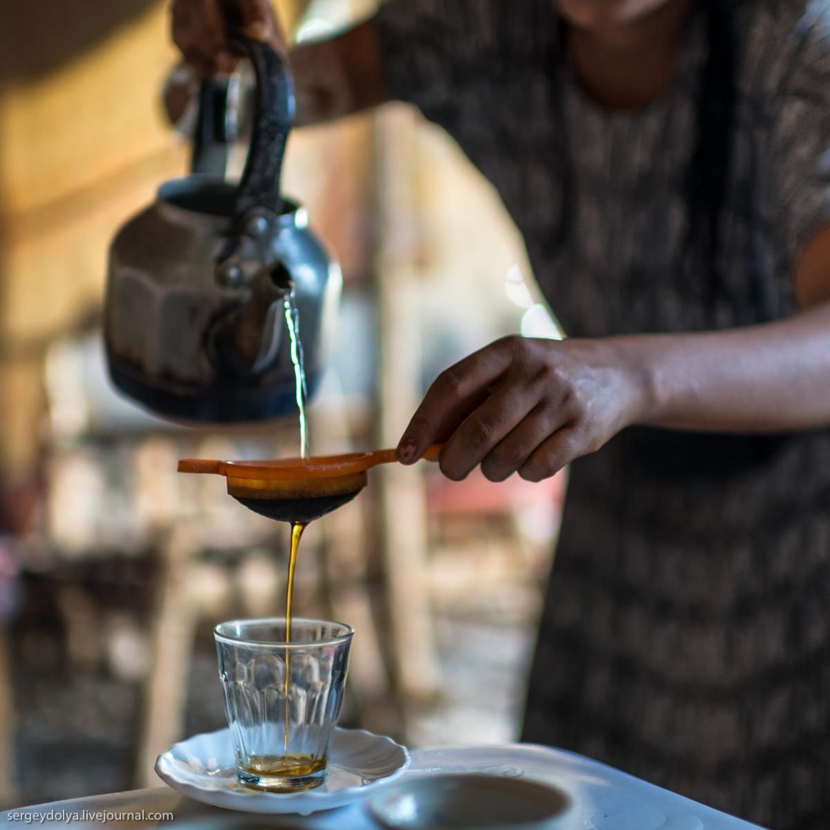 Ритуал кофепития в Эфиопии