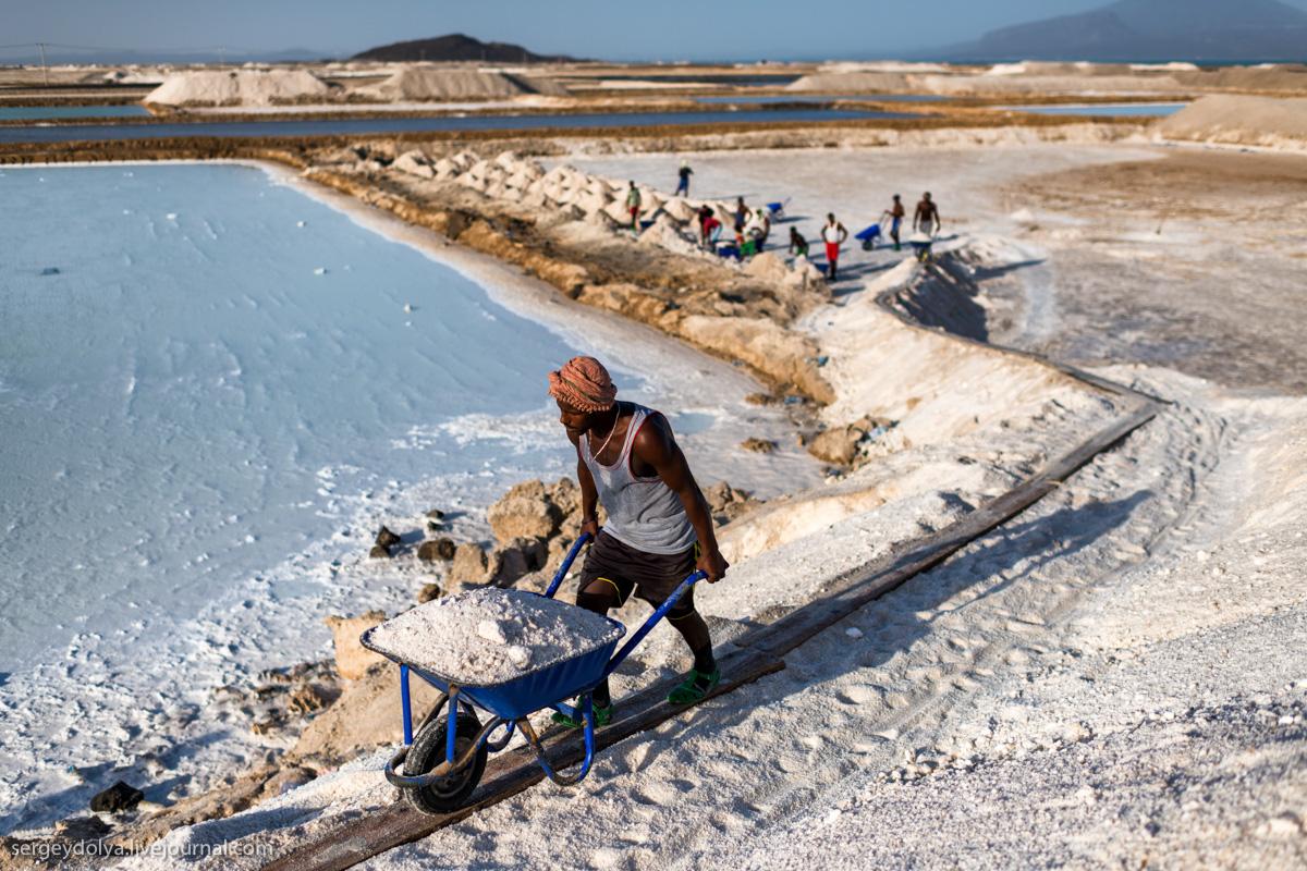 Прогрессивный способ добычи соли