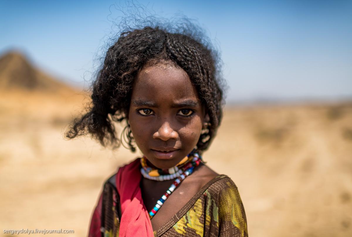 Эфиопские дети. Очень красивые и ...