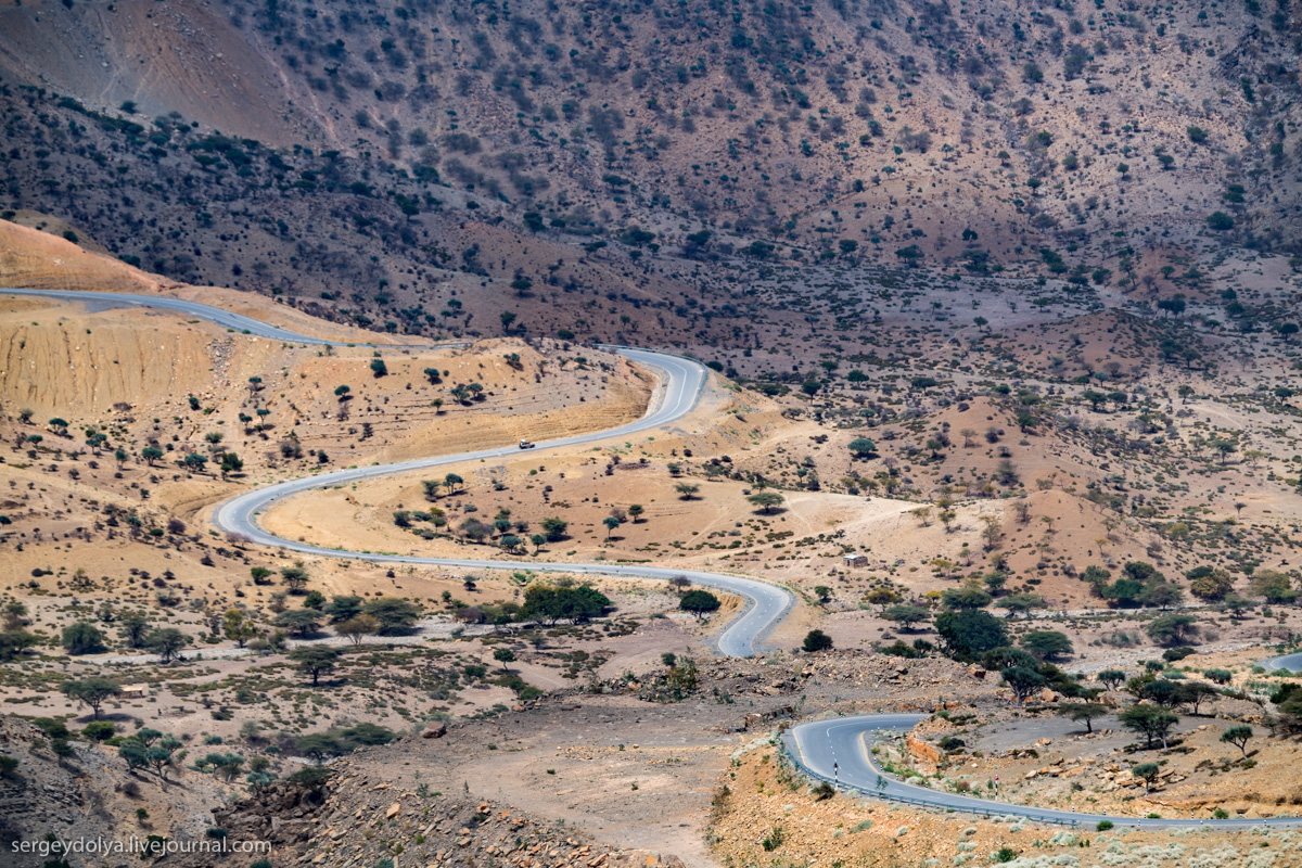 Безупречные дороги Эфиопии, которые строят китайцы