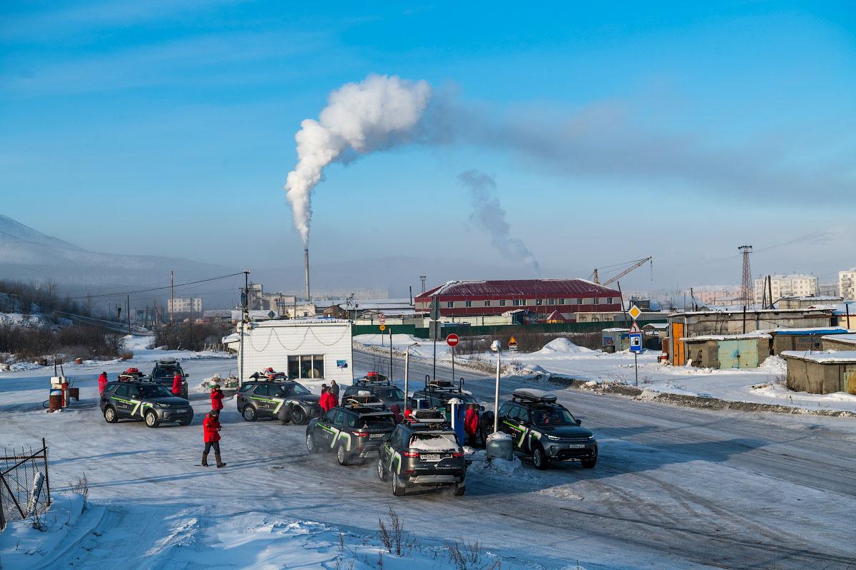 Усть-Нера – ключевой поселок на федеральной трассе Колыма