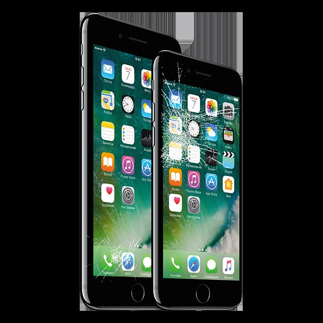 Официальная замена разбитого стекла iPhone за 2 часа в Москве!