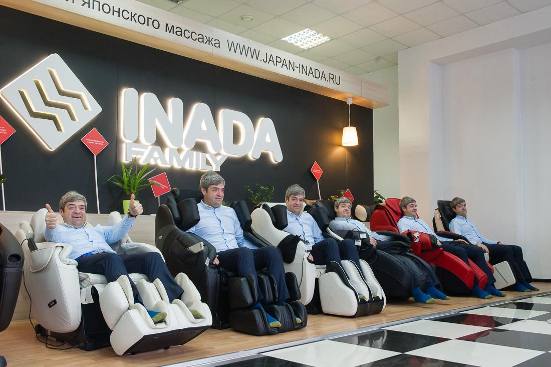Inada или как я перестал бояться и полюбил массажные кресла