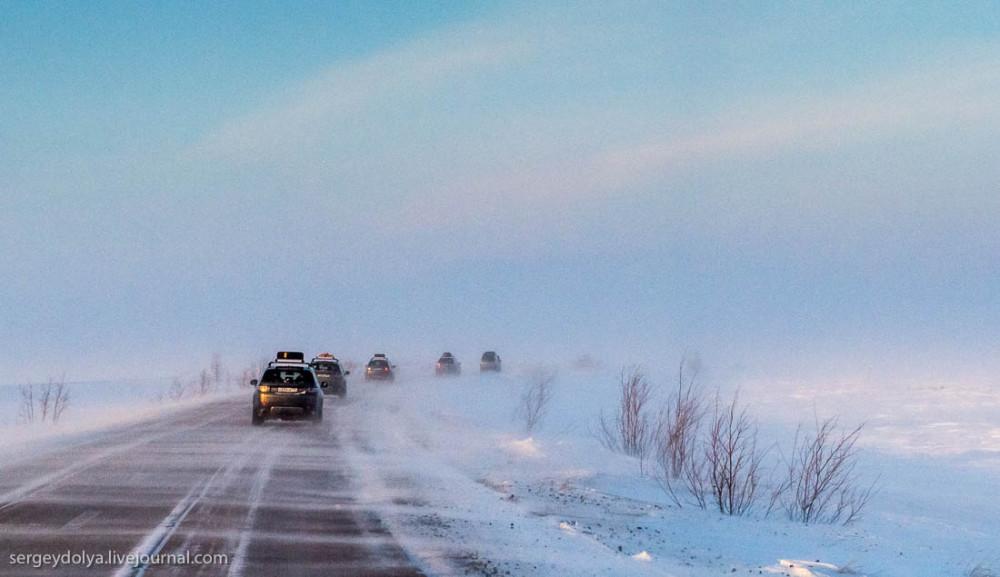 Сталинская дорога-призрак (видео)