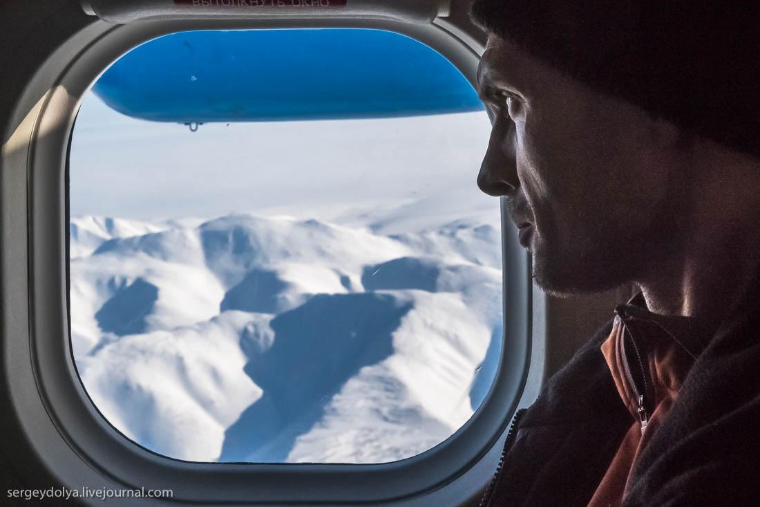 """Чукотская """"маршрутка"""" на высоте 3000 метров"""