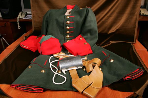Как зеленый цвет стал основным в русской армии