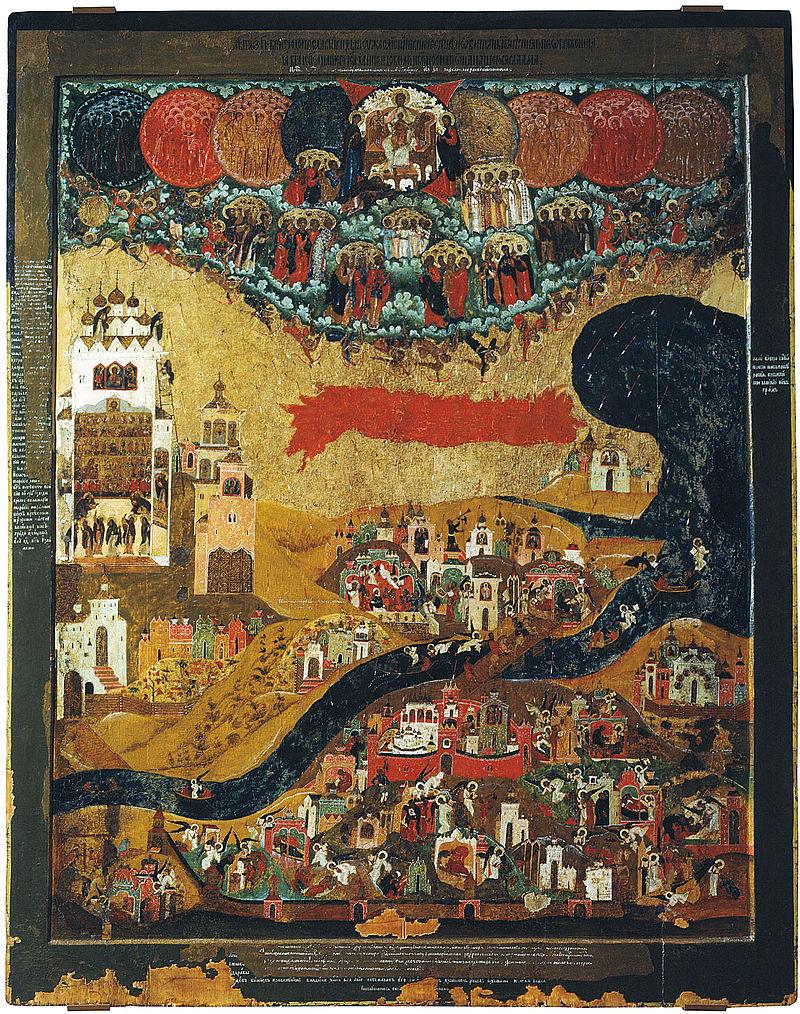 Варлаам Хутынский видение параномаря Тарасия