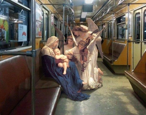 Рождество - Дева Мария метро
