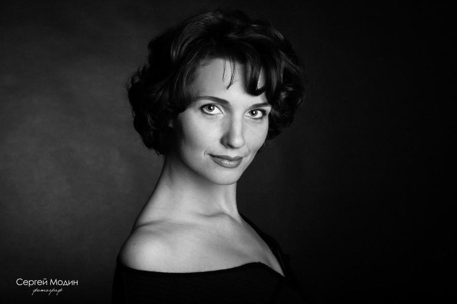 Марина. Черно-белый портрет