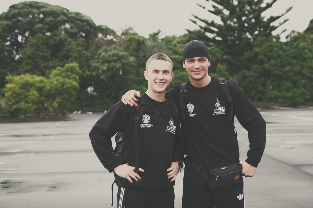 Сергей Овсянников и Дмитрий Черксасов - Новая Зеландия