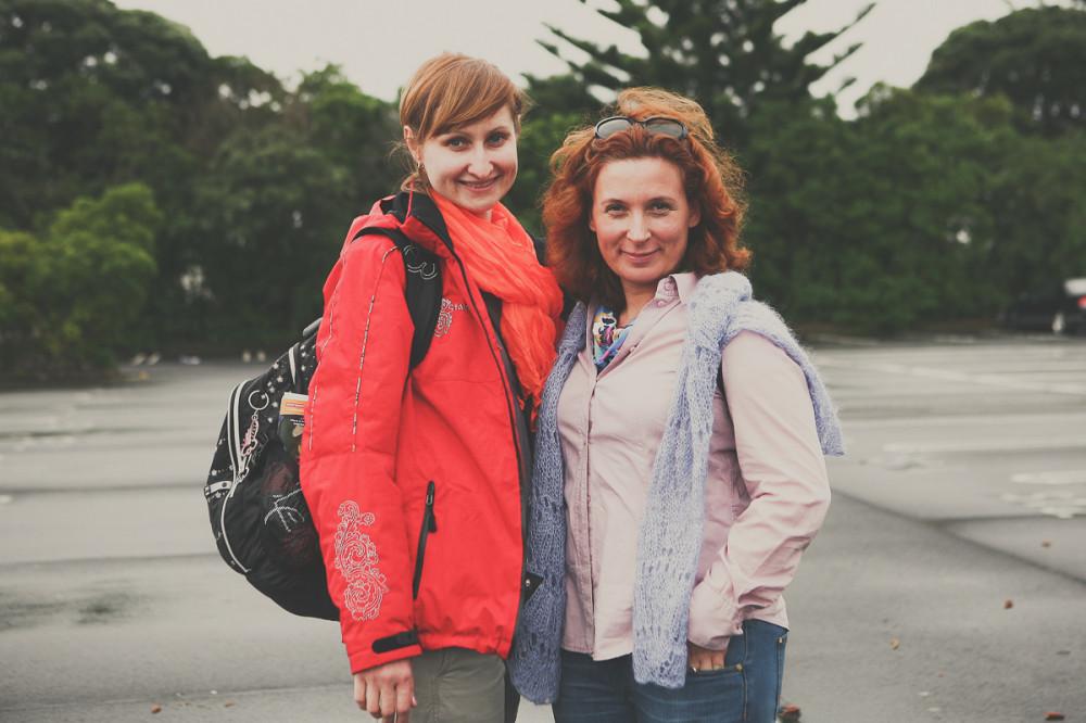 Татьяна и Екатерина - Новая Зеландия