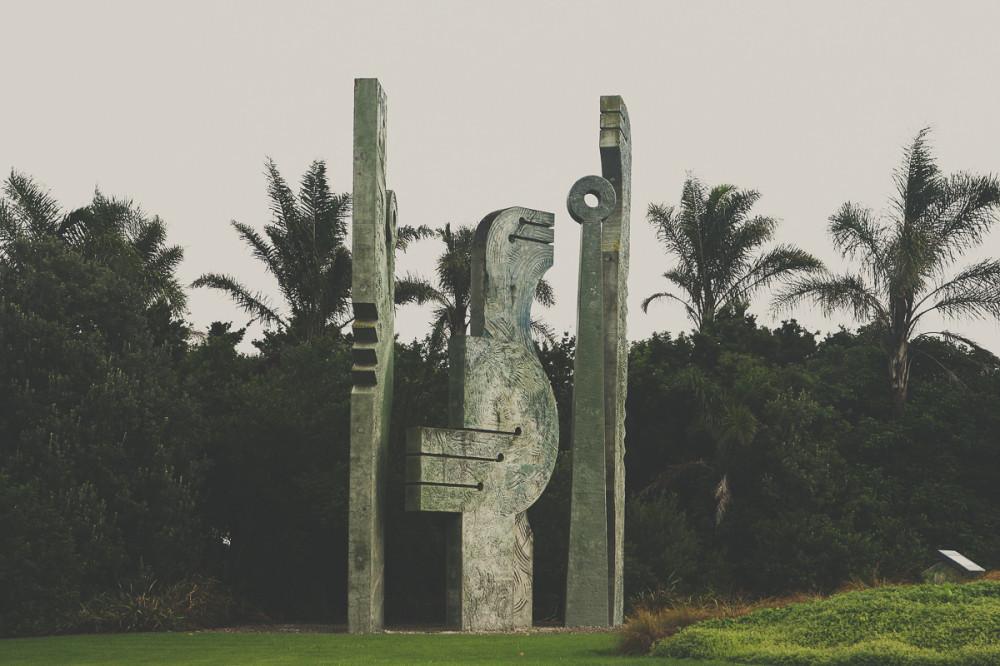 Памятник в Новой Зеландии - Новая Зеландия