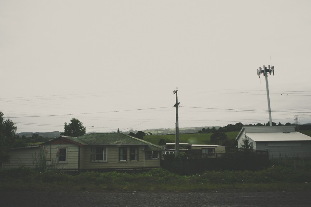 Домики как в России - Новая Зеландия