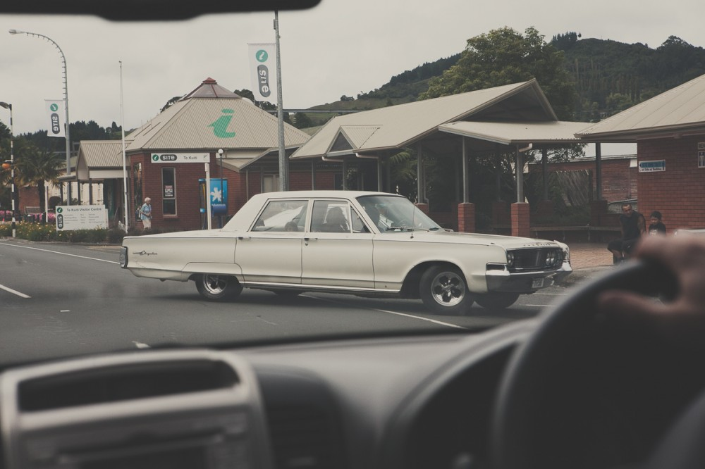 Машина в Новой Зеландии