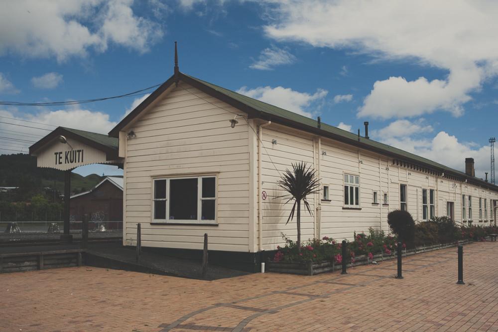 Вокзал в небольшом городке - Новая Зеландия