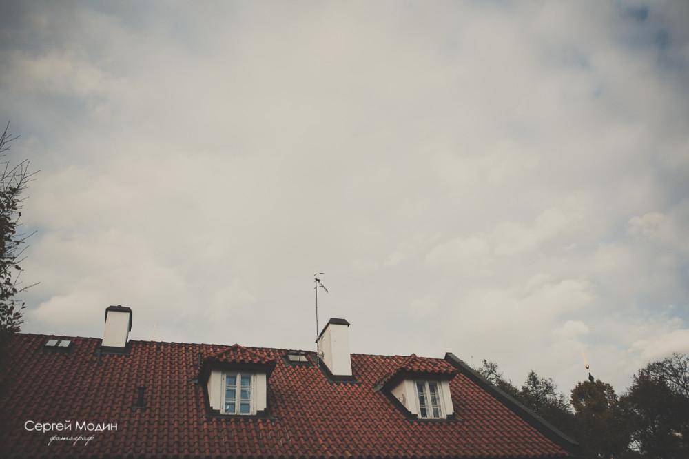 Крыша - Прага