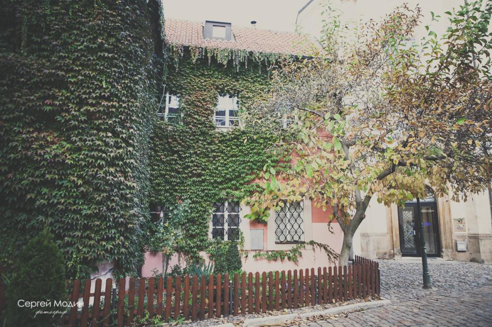 домик в Праге