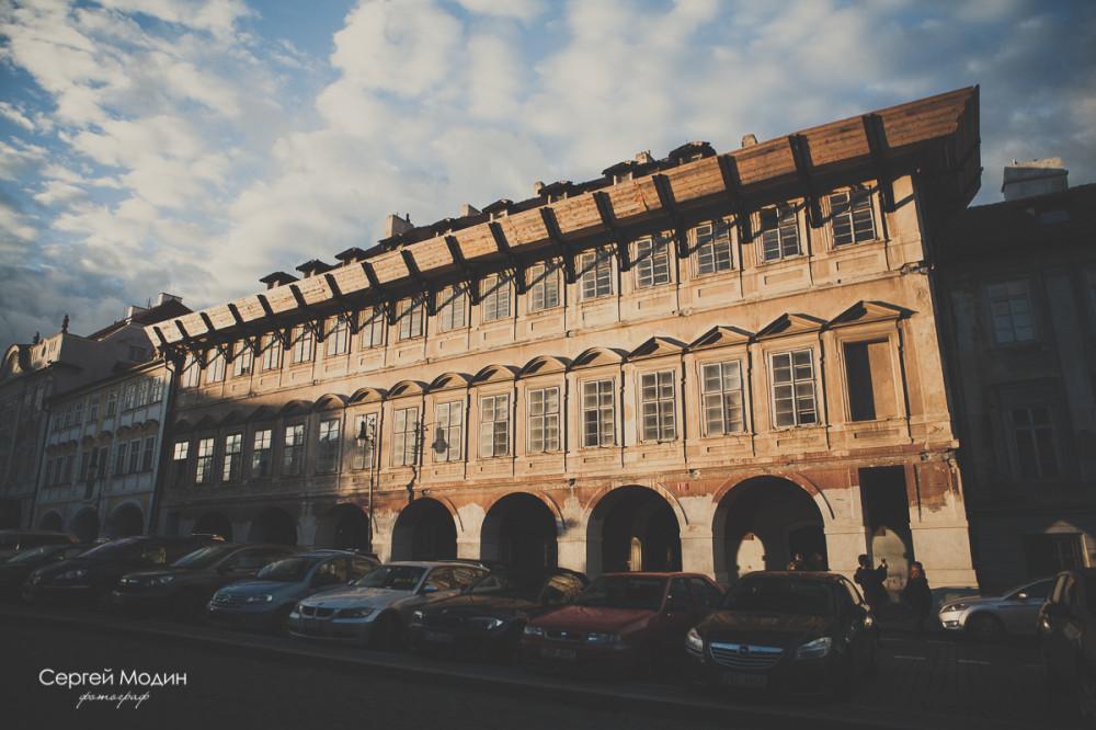 здание в Праге