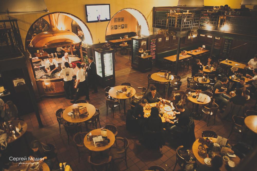 Пивной ресторан в Праге