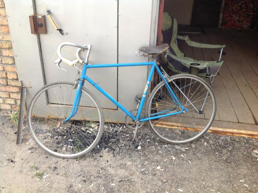 Первый секс велосипед