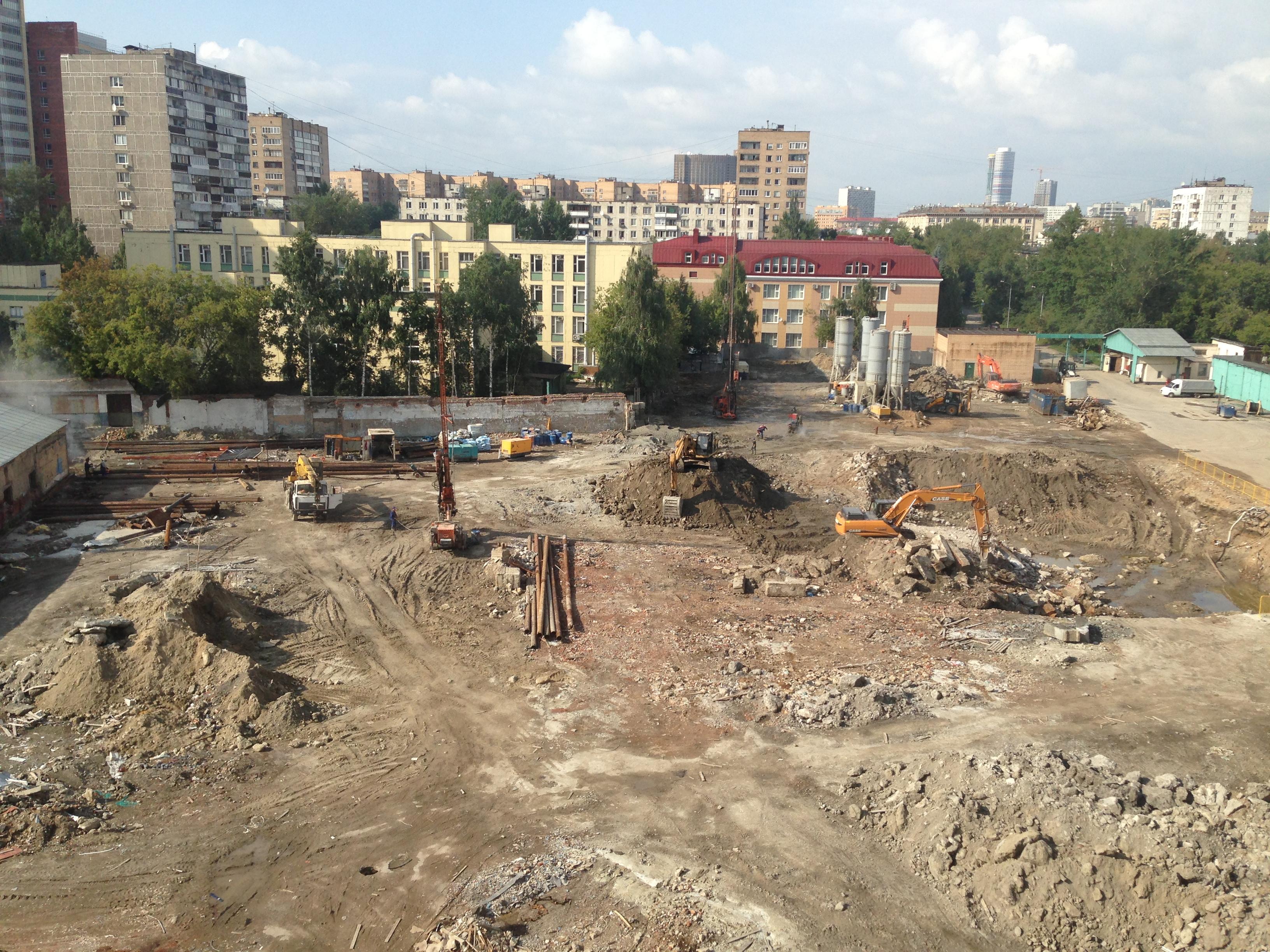 Стройка в России