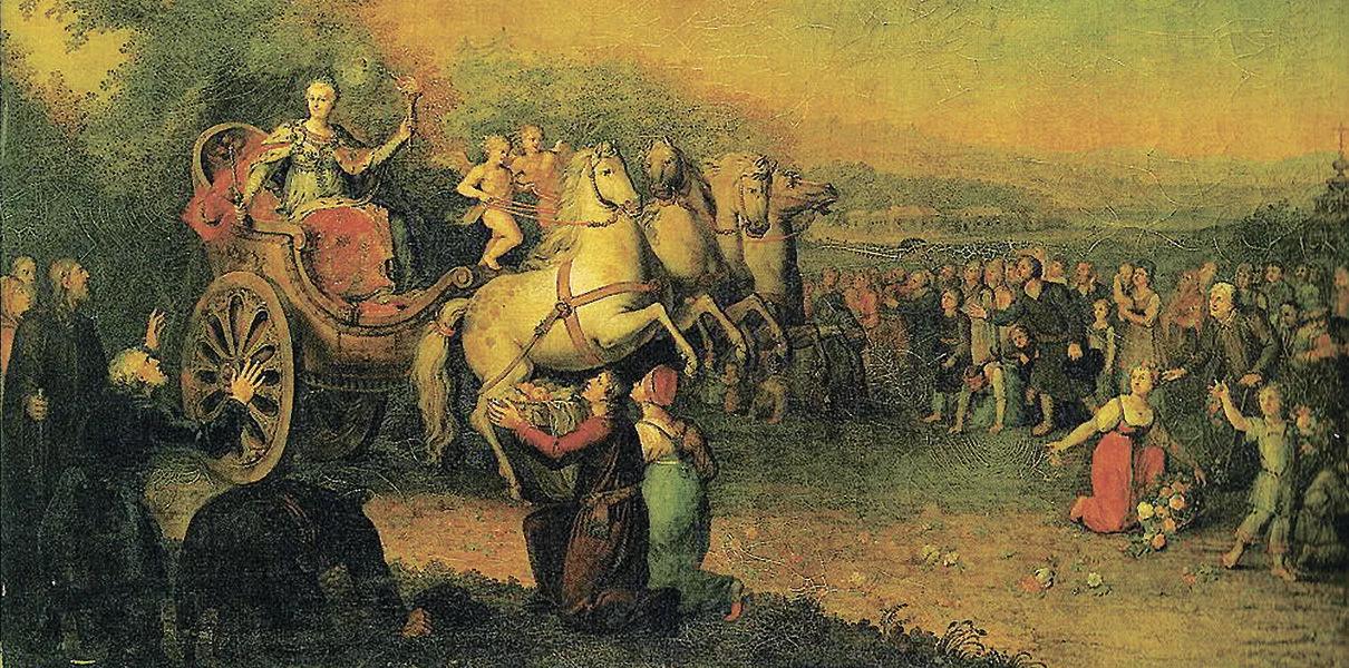 Путешествие Екатерины II в Тавриду