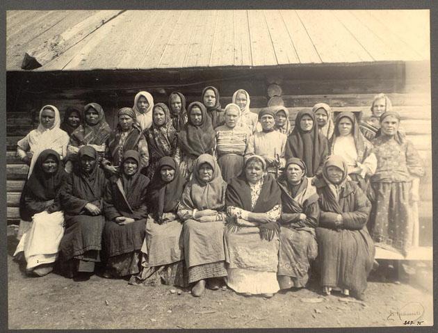 Н. Г. Катанаев. Сибирские казачки-бабы. 1909